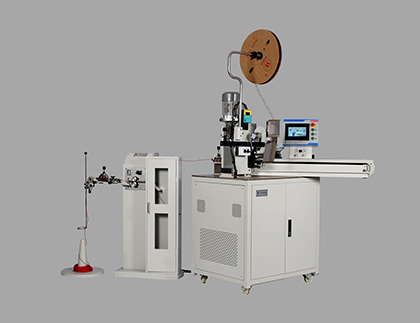 Fully Automatic Cut, strip And Crimping Machine